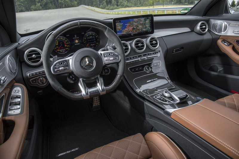 Foto Interiores Mercedes C-63-amg Berlina 2018