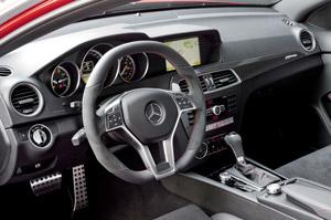 Foto Interiores (2) Mercedes C-63-amg Cupe 2012