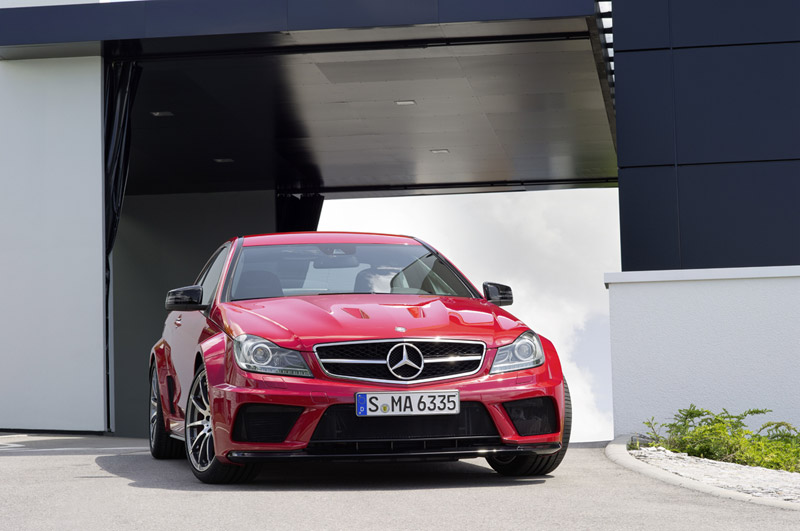 Foto Frontal Mercedes C 63 Amg Cupe 2012