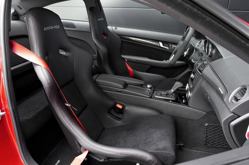 Foto Interiores Mercedes C 63 Amg Cupe 2012