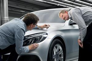 Foto Tecnicas (31) Mercedes C-class Berlina 2014