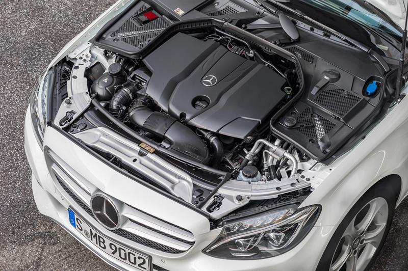 Foto Detalles Mercedes C Class Berlina 2014