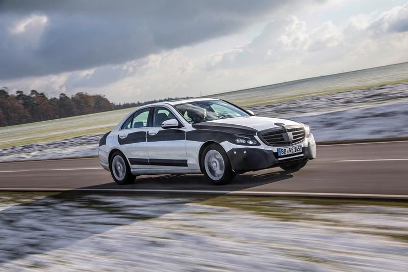 Foto Exteriores Mercedes C Class Berlina 2014