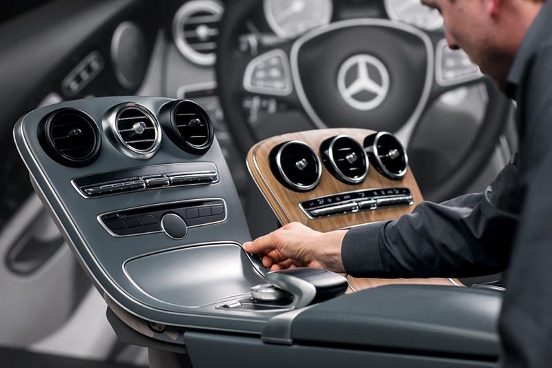 Foto Tecnicas Mercedes C Class Berlina 2014