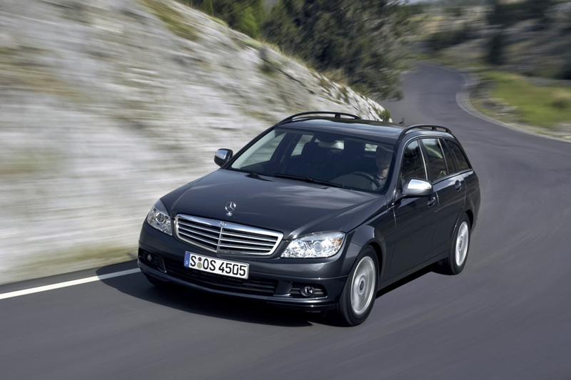 Foto Delantero Mercedes C class Familiar 2008