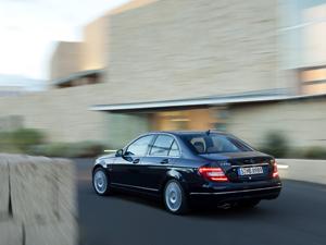 Foto Trasera Mercedes C-class Sedan 2011
