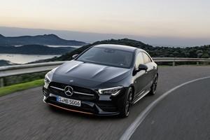 Foto Delantera Mercedes Cla Coupe 2019