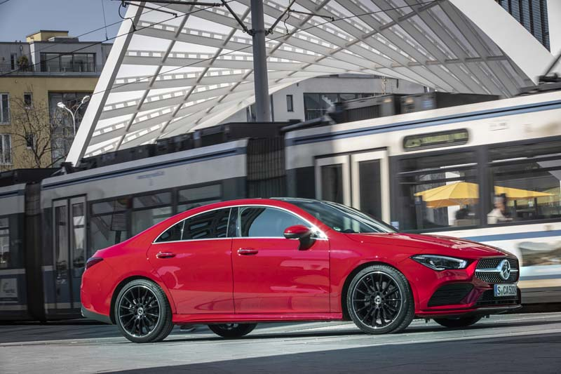 Mercedes CLA Coupé 2019, prueba express