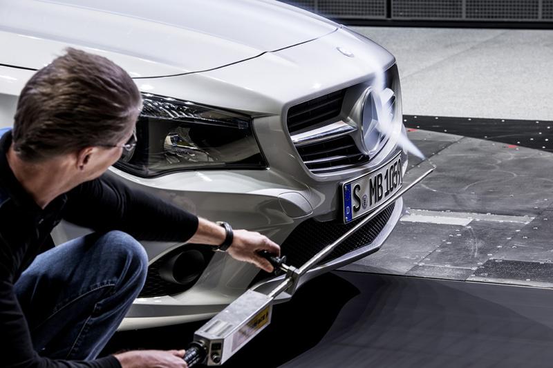 Foto Tecnicas Mercedes Cla Class Cupe 2013