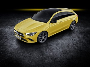 Foto mercedes cla-shooting-brake 2019