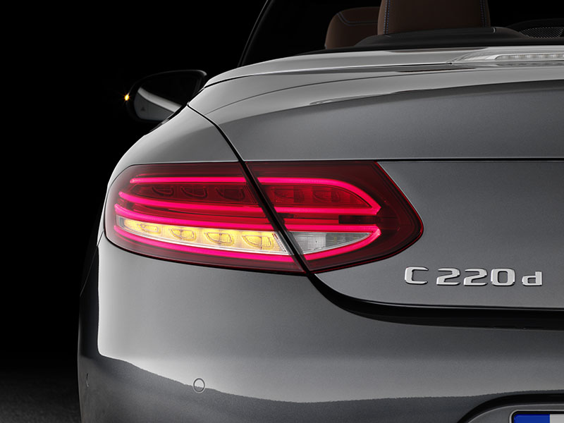 Foto Detalles Mercedes Clase C Cabrio Descapotable 2016