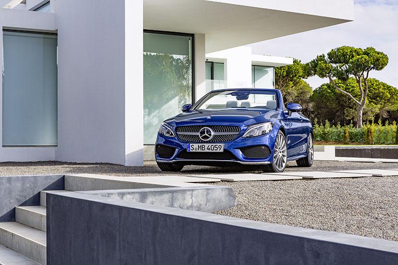 Foto Exteriores Mercedes Clase C Cabrio Descapotable 2016