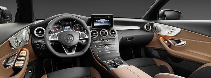 Foto Interiores Mercedes Clase C Cabrio Descapotable 2016