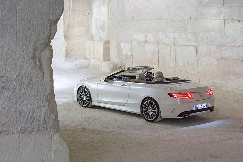 Foto Exteriores Mercedes Clase S Cabrio Descapotable 2016