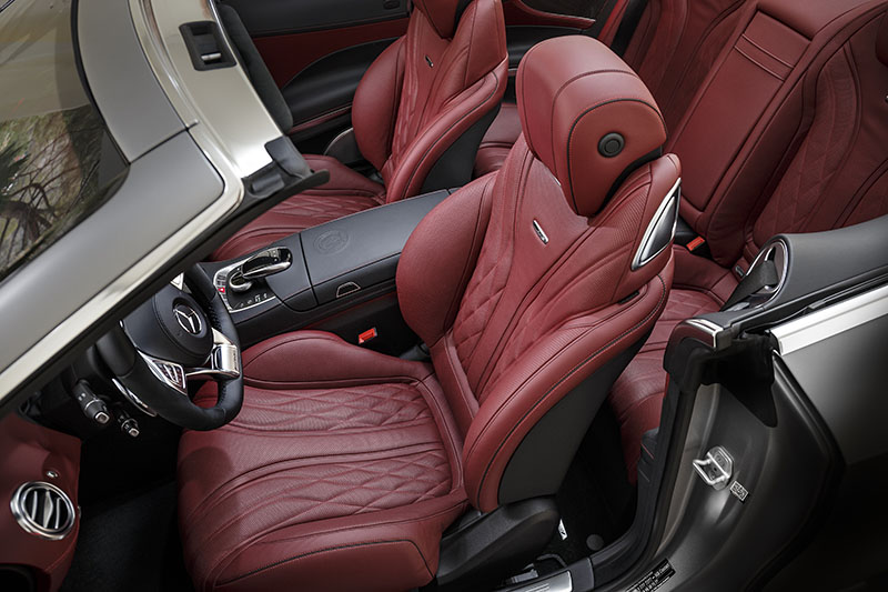 Foto Interiores Mercedes Clase S Cabrio Descapotable 2016