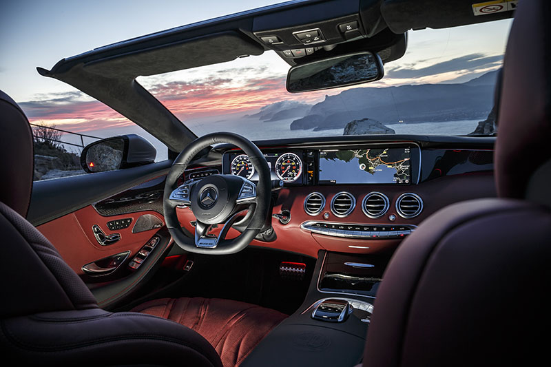 Foto Salpicadero Mercedes Clase S Cabrio Descapotable 2016