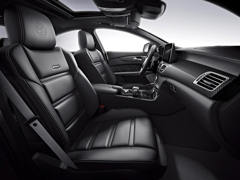 Foto Interiores Mercedes Cls Cupe 2014