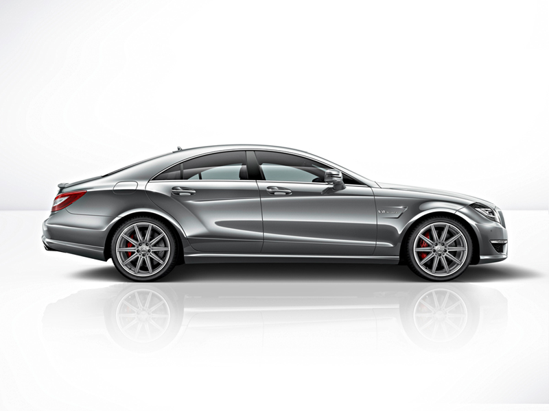 Foto Lateral Mercedes Cls Cupe 2014