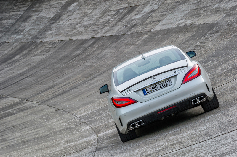Foto Trasera Mercedes Cls Cupe 2014