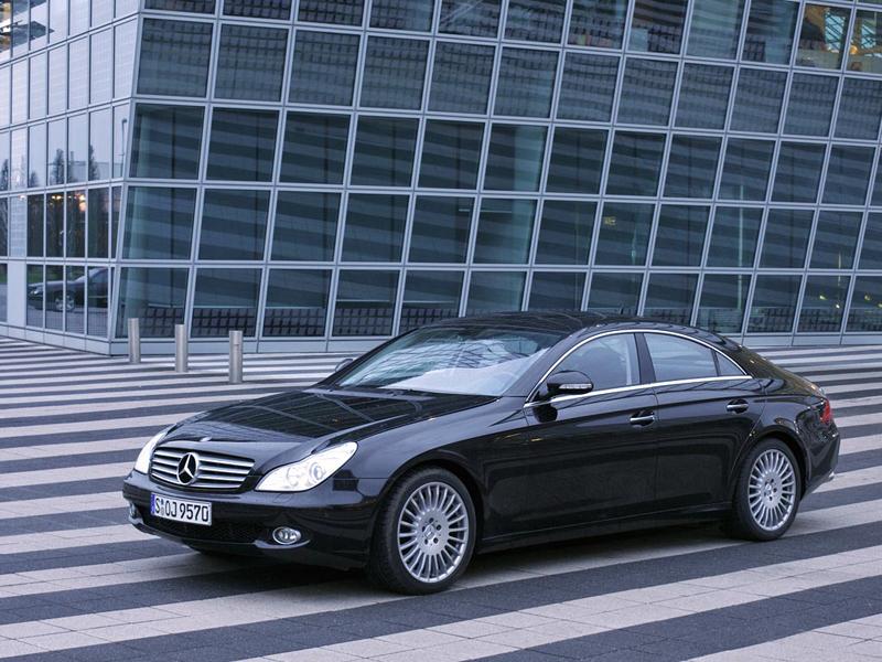 Foto Delantero Mercedes Cls class Sedan 2009