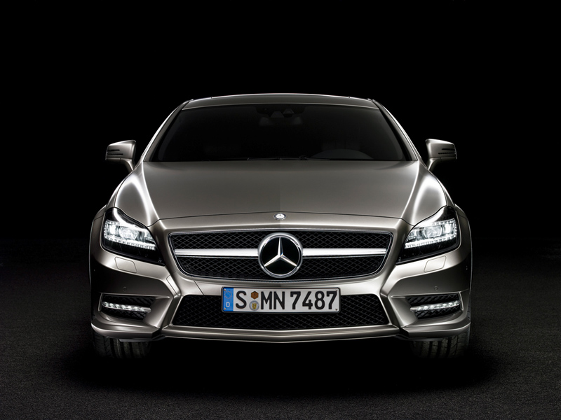 Foto Frontal Mercedes Cls Class Sedan 2010