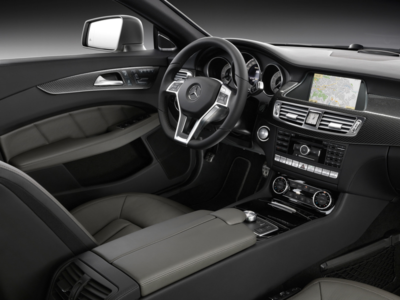 Foto Interiores Mercedes Cls Class Sedan 2010