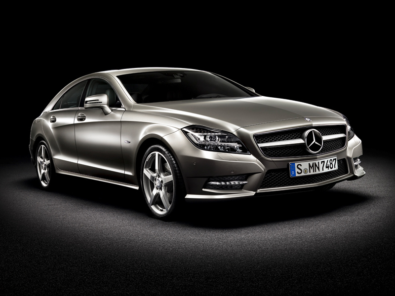 Foto Lateral Mercedes Cls Class Sedan 2010