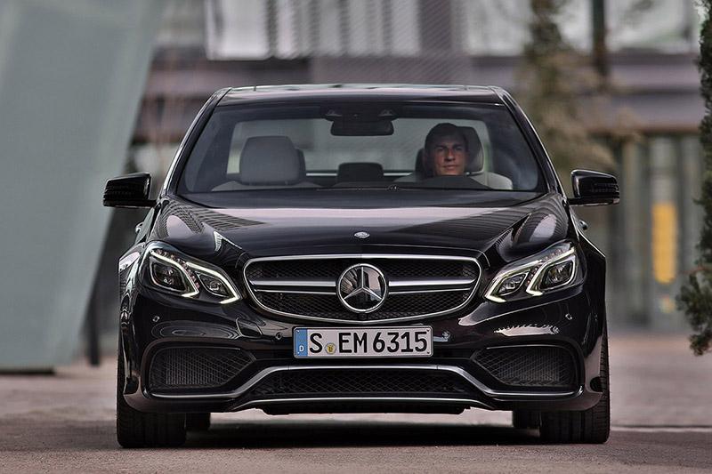 Foto Mercedes Benz E63 Amg Mercedes E 63 Amg Sedan 2013