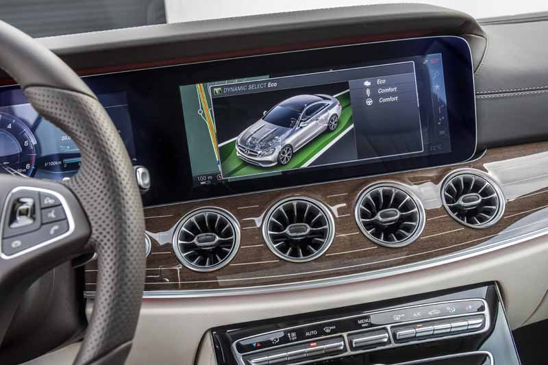 Mercedes Clase E Coupé 2017, foto interior
