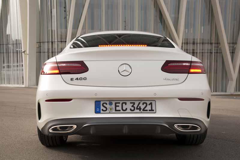 Foto Exteriores (14) Mercedes E-class Cupe 2017