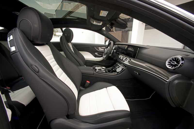 Foto Interiores (4) Mercedes E-class Cupe 2017