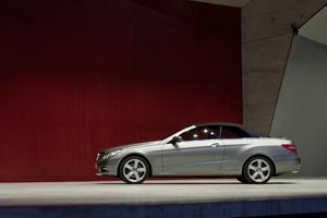 Foto Perfil Mercedes E class Descapotable 2010
