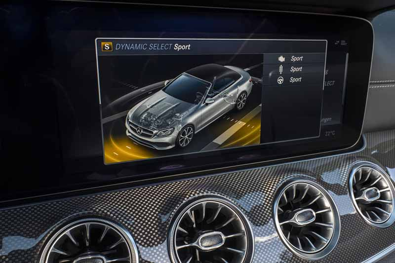 Mercedes Clase E Cabrio 2017, foto dynamic select