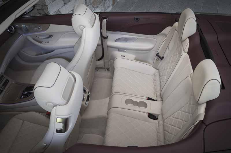 Foto Interior 1 Mercedes E-class Descapotable 2017