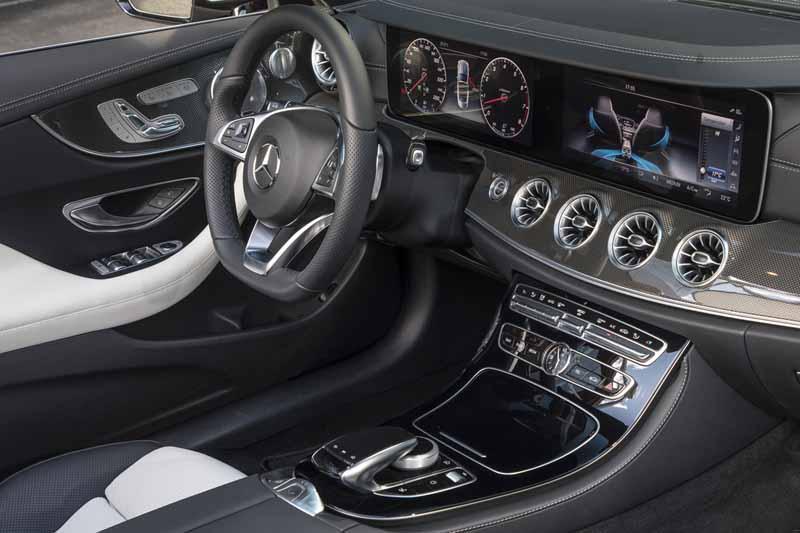Foto Interior 4 Mercedes E-class Descapotable 2017