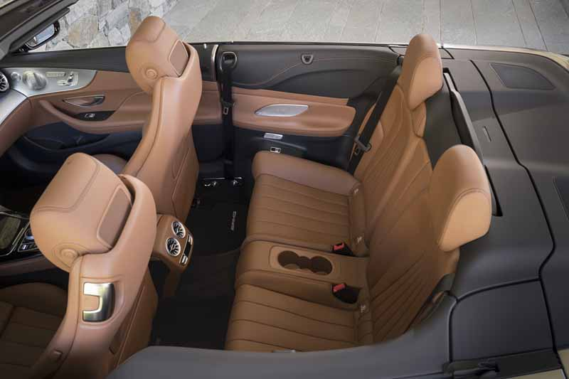 Mercedes Clase E Cabrio 2017, foto interior