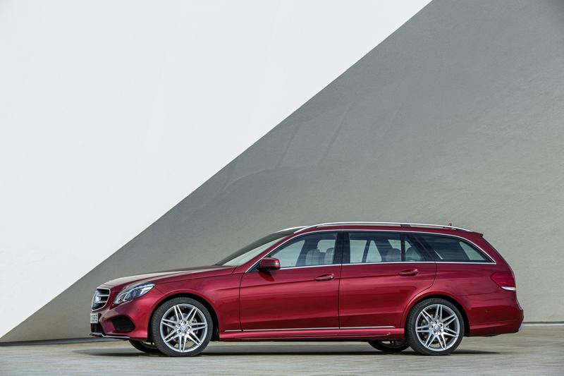 Foto Lateral Mercedes E Class Familiar 2012