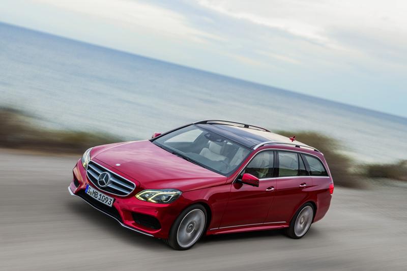Foto Perfil Mercedes E Class Familiar 2012