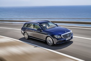 Foto Delantera Mercedes E-class Familiar 2017