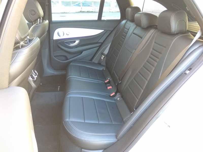 fotos asientos traseros Mercedes Clase E Estate