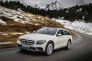 Foto Delantera Mercedes E-class-all Terrain Suv Todocamino 2017