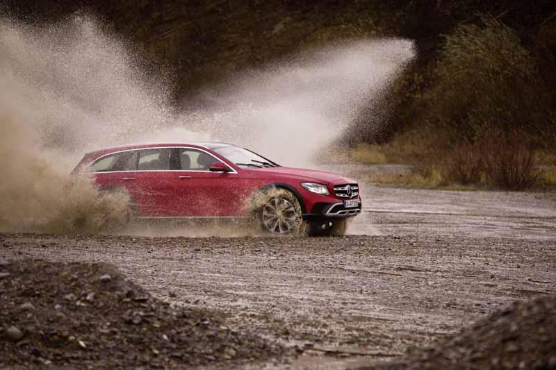 Foto Exteriores (6) Mercedes E-class-all Terrain Suv Todocamino 2017