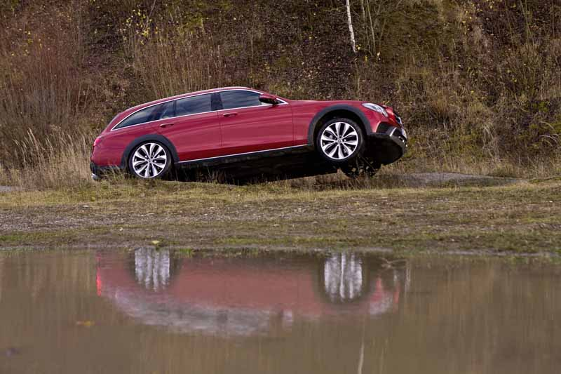 Foto Exteriores Mercedes E Class All Terrain Suv Todocamino 2017