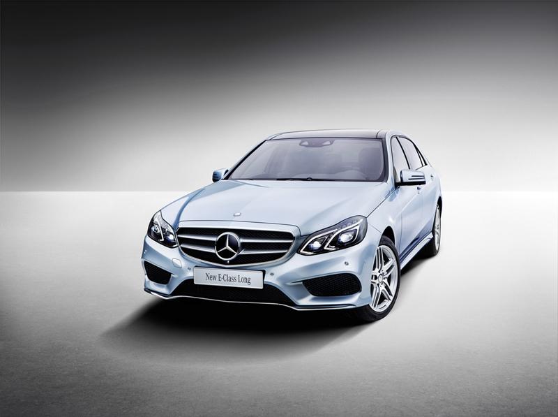 Foto Perfil Mercedes E Class Largo Sedan 2013