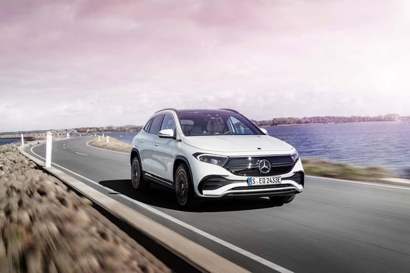 Mercedes-Benz EQA, foto delantera