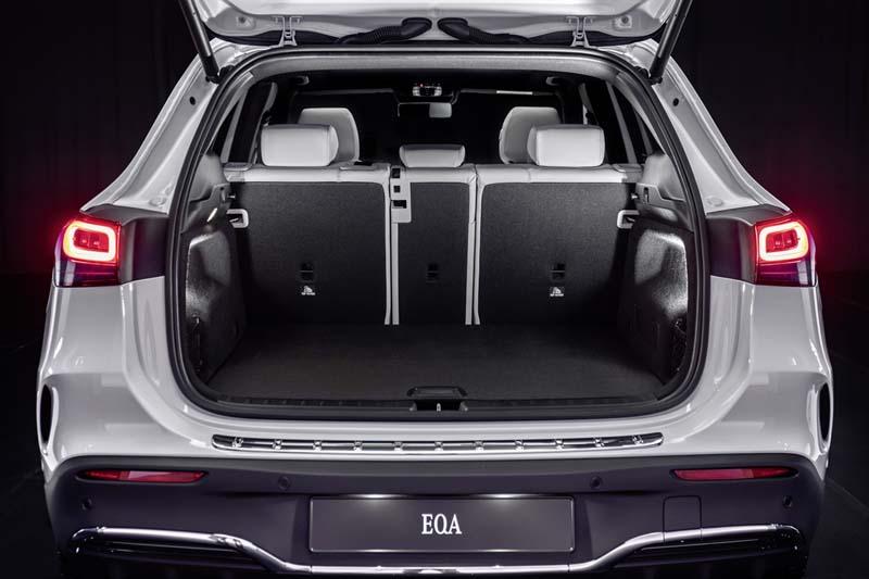 Mercedes-Benz EQA, foto maletero
