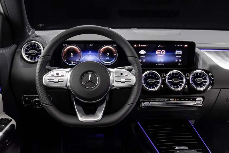 Mercedes-Benz EQA, foto salpicadero