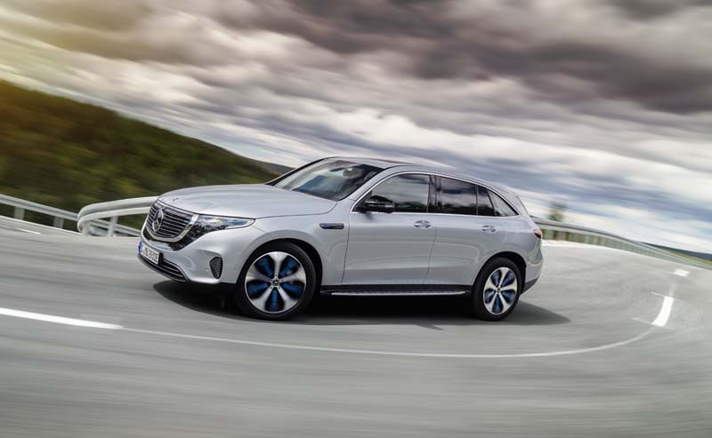 Mercedes-Benz EQC 400 4Matic, foto lateral