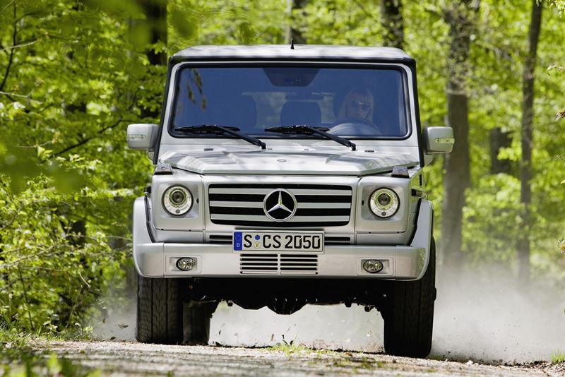 Foto Frontal Mercedes G Suv Todocamino 2006