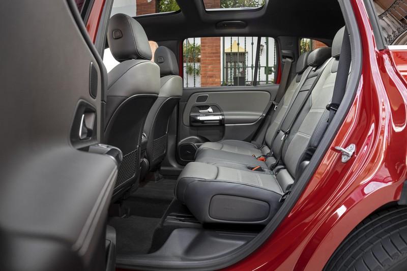 Foto Interiores Mercedes Glb Suv Todocamino 2020